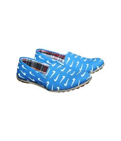 Port Blue Canvas Slip-On Casual Shoes Blue Loafers, Printed Shoes, Loafers Online, Blue Canvas, Heeled Mules, Casual Shoes, Slip On, Heels, Prints