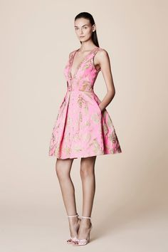 Heading to a wedding? Go for a fun, playful look with this dress! Shop this style at FarFetch.com.
