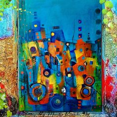 Painting Abstracto! By Monica Renedo,Art