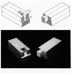 Galería - En Detalle: Especial / Los ensambles de madera en la arquitectura japonesa tradicional - 24