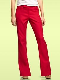 Tomato red Modern Boot pants. Gorgeous in person! $59.95