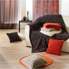 "Disponible sur Paris-Prix.com Plaid 180X230 Fourrure ""Lynx"" Chocolat"