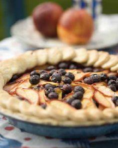 Nectarine and Blueberry Pie | Sweet Paul Magazine