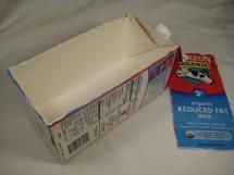 Inexpensive or Free Homemade Soap Molds You Can Find Locally: Milk Carton Soap Mold