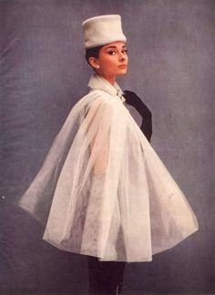 Audrey Hepburn & Givenchy's sublime French elegance with a twist of Russian aristocracy