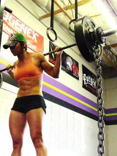 A girl's got to have dreams, right? We'll get there.... #crossfit