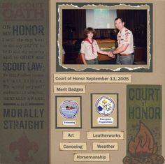 Boy Scouts - Scrapbook.com
