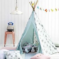 1000 images about cabanes tipis on pinterest teepees. Black Bedroom Furniture Sets. Home Design Ideas