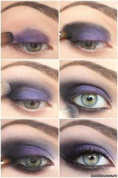 Cмоки айс: дымчатый макияж