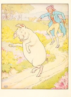 L. Leslie Brooke, Ring o' roses; a nursery rhyme picture book