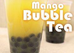 easy mango bubble tea