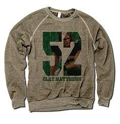 Amazon.com: Clay Matthews NFLPA Green Bay Packers Men's Crewneck Clay Matthews Game: Sports & Outdoors