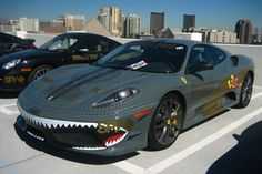 Ferrari 360 Modena - part of our coolest Gumball Car Blog