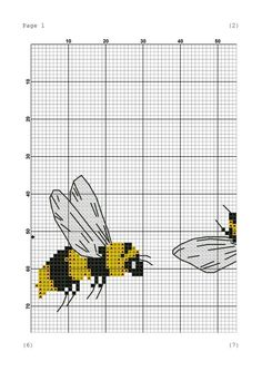 Bee crazy cross stitch pattern Bee pdf pattern Animal cross stitch Insect cross stitch pdf Cute cros Cross Stitch Fruit, Mini Cross Stitch, Cross Stitch Borders, Cross Stitch Animals, Modern Cross Stitch, Cross Stitch Flowers, Cross Stitch Designs, Cross Stitching, Cross Stitch Embroidery