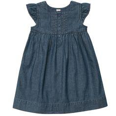 Flutter Sleeve Chambray Dress (OshKosh B'gosh)