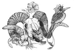 Gothic Skull Drawings | Gothic Skull Drawings Gothic skull: art, design