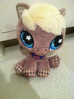 The littlest pet shop stuffed animal :) Thanks for the gift of 200,000 IONS by Christina Canzano!