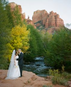Best of Both Worlds, Creek and Red Rocks at L'Auberge