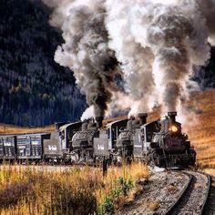 Viejos amigos: los trenes