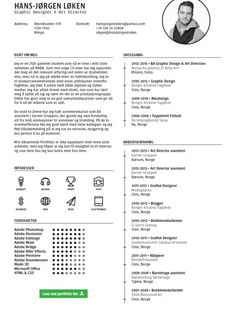The Best Cv  Resume Templates  Examples  Cv Resume Template