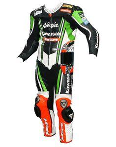 Tom Sykes Kawasaki Ninja Motogp 2013 Champion Leather Suit
