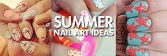 Nail-Art Ideias Verão