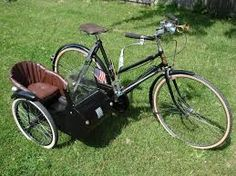 Image result for bicycle with sidecar