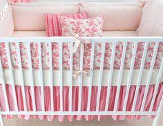 berry pink bedding, so pretty!