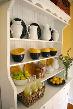 I spoke last week about giving your kitchen cabinets a new look with primer and paint.  I received so many great emails from you guys about how the idea inspired you to take on the project yourself and make change happen in your own kitchens.   You were also inspired to take the concept into other areas too.          You can easily take a tired piece of furniture – sand it down, remove the hardware and prime it to prep the surface for a final coat or two of pa...
