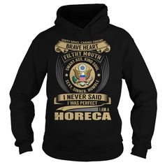 Horeca Brave Heart Job Title TShirt