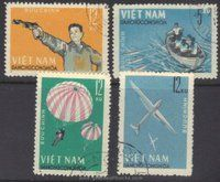 Vietnam Stamps - 1964, Sc 320-3, National Defense Games - CTO, F-VF - (9N048)