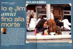 Last photos of Jim Morrison, Saint-Leu-d'Esserent 1971 © Alain Ronay