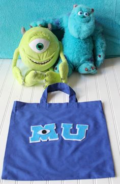 #MonstersUniversity Tote Bag!
