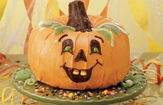The Great Pumpkin Cake Recipe | Halloween Cake |