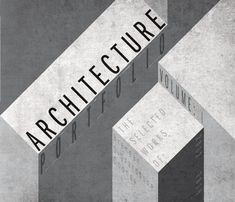 Architecture portfolio of work completed during my undergraduate education.