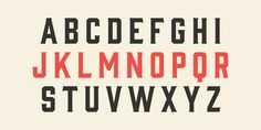 Gin Font - Vintage Display Type Family from Hold Fast Foundry
