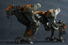 Robot model by Jorge Barros. Based on Marco Kunardi's concept.