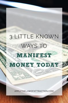 Are you looking to manifest money fast? This article includes exactly what you need to do to use the law of attraction to get money quickly. Click through to read the whole post and start manifesting money today! Manifestation Law Of Attraction, Law Of Attraction Affirmations, Manifestation Journal, Law Of Attraction Money, Law Of Attraction Quotes, Dave Ramsey, How To Get Money, Money Fast, Big Money