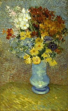 In a Van Gogh Painting, the Flowers Are Changing Color