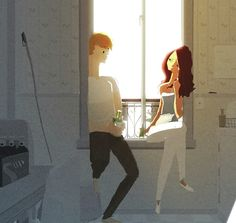 taking a break by Pascal Campion on Storybird
