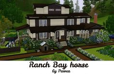 Sims 3 Finds - Ranch Bay horse at Pawca's Creations