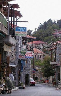 Vιtina village, Arcadia (Peloponnese), Greece