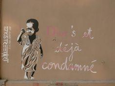 EZK - street art - Art again poverty