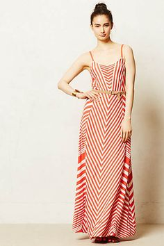 Meter Stripe Maxi Dress
