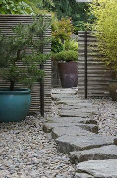 Mini jardin zen japonais diy id e Plus Gravel Landscaping, Front Yard Landscaping, Landscaping Ideas, Backyard Ideas, Gravel Path, Luxury Landscaping, Landscaping Software, Landscaping Company, Landscape Plans