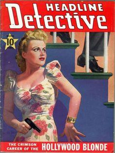 Headline Detective March 1941