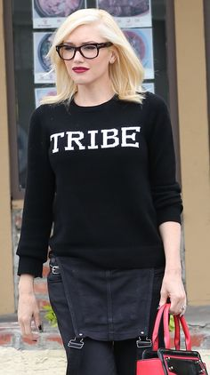 We found Gwen Stefani's Tribe sweatshirt. Get it on SHEfinds.com