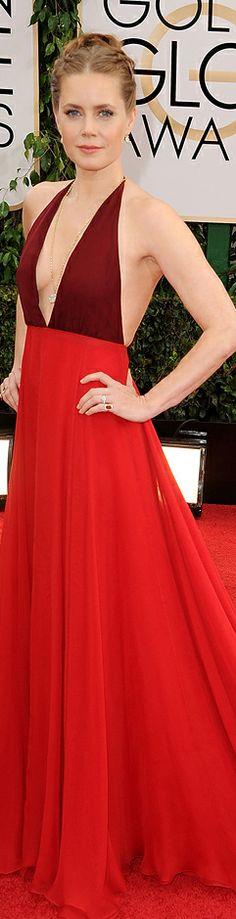 Amy Adams in Valentino | Golden Globes 2014