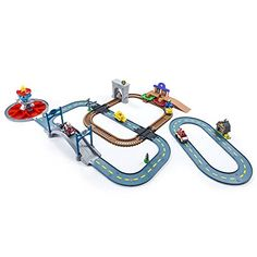 The Paw Patrol is on a roll with the Mega Roll Patrol Track Set! This set includes 3 Roll Patrol Track Sets: Rocky's Barn Rescue Adventure Bay Railway and Launch N Roll Lookout Tower. Kids will love. Paw Patrol Gifts, Paw Patrol Rocky, Lookout Tower, Toys R Us Canada, All Toys, Kids Store, All Brands, Toddler Activities, Little Ones