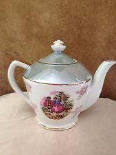 Vintage Fine China Tea Pot Victorian
